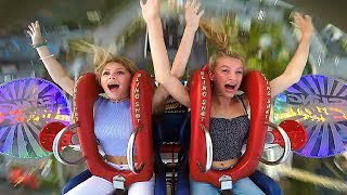 Girls Birthday Party | Funny Slingshot Ride Compilation