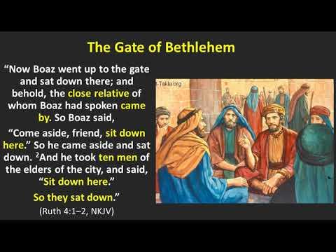 Ruth 4 - Redeemed
