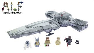 Lego Star Wars 75096 Sith Infiltrator™ - Lego Speed Build Review