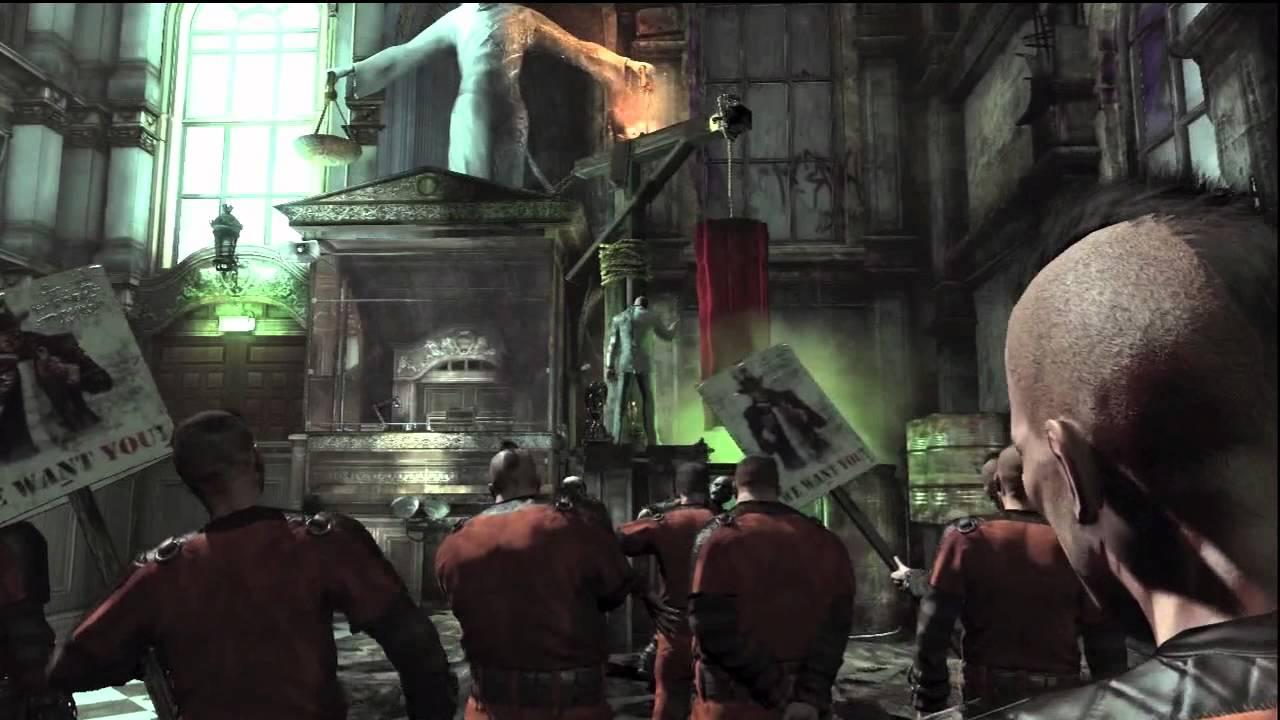 Batman Arkham City Walkthrough 2 - YouTube