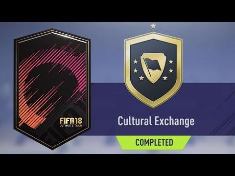 WYMIANA KULTUROWA SBC (przystępnie tanio)   FIFA 18 ULTIMATE TEAM