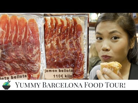 Barcelona Food Tour | Delicious Tapas And Jamon Iberico | Barcelona Travel Guide