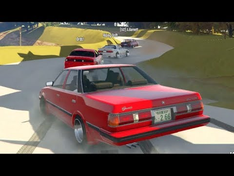 GTA 5 FiveM Drifting - THE PERFECT DRIFT! Ebisu Complex w/Crew