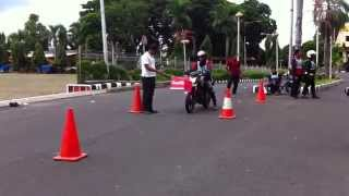 Slalom Pylon SRC Region Lampung 2014