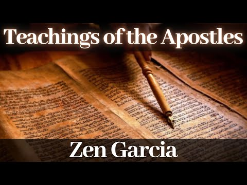 1st Hour Bitcoin & Blockchain - 2nd Hour The Teachings of the Apostles with Zen Garcia