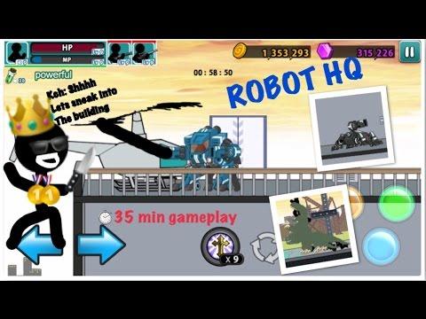Anger of stick 5 level 46 ROBOT HEADQUARTERS