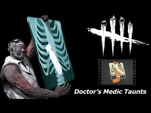 Doctor's Medic Taunts (Dead By Daylight/TF2 SFM Test 3)