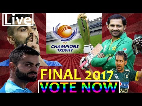India vs Pakistan Live Icc Champions Trophy Final 2017