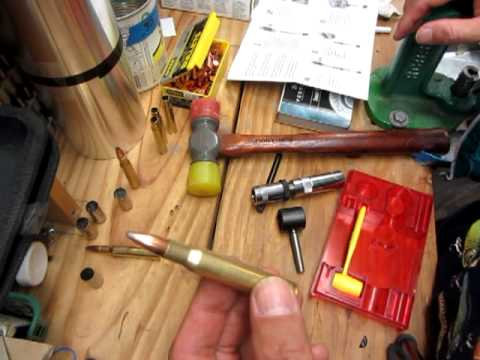Economics of reloading-using a lee loader for 30-06 youtube.