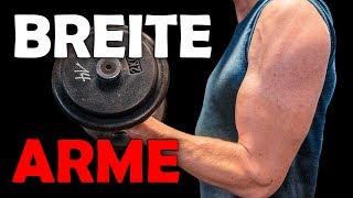 Breite Arme: SO musst du trainieren!