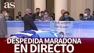 MUERTE MARADONA| EN DIRECTO  despedida desde BUENOS AIRES I Diario AS