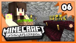 Minecraft PE (Pocket Edition) - BLAZE FARM! - Ep 6 -