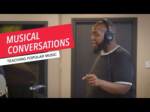 Modeling Conversations Through Music | Teaching Popular Music in the Classroom