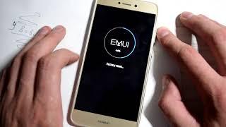Сброс настроек Huawei P8 lite 2017 pra-la1, hard reset