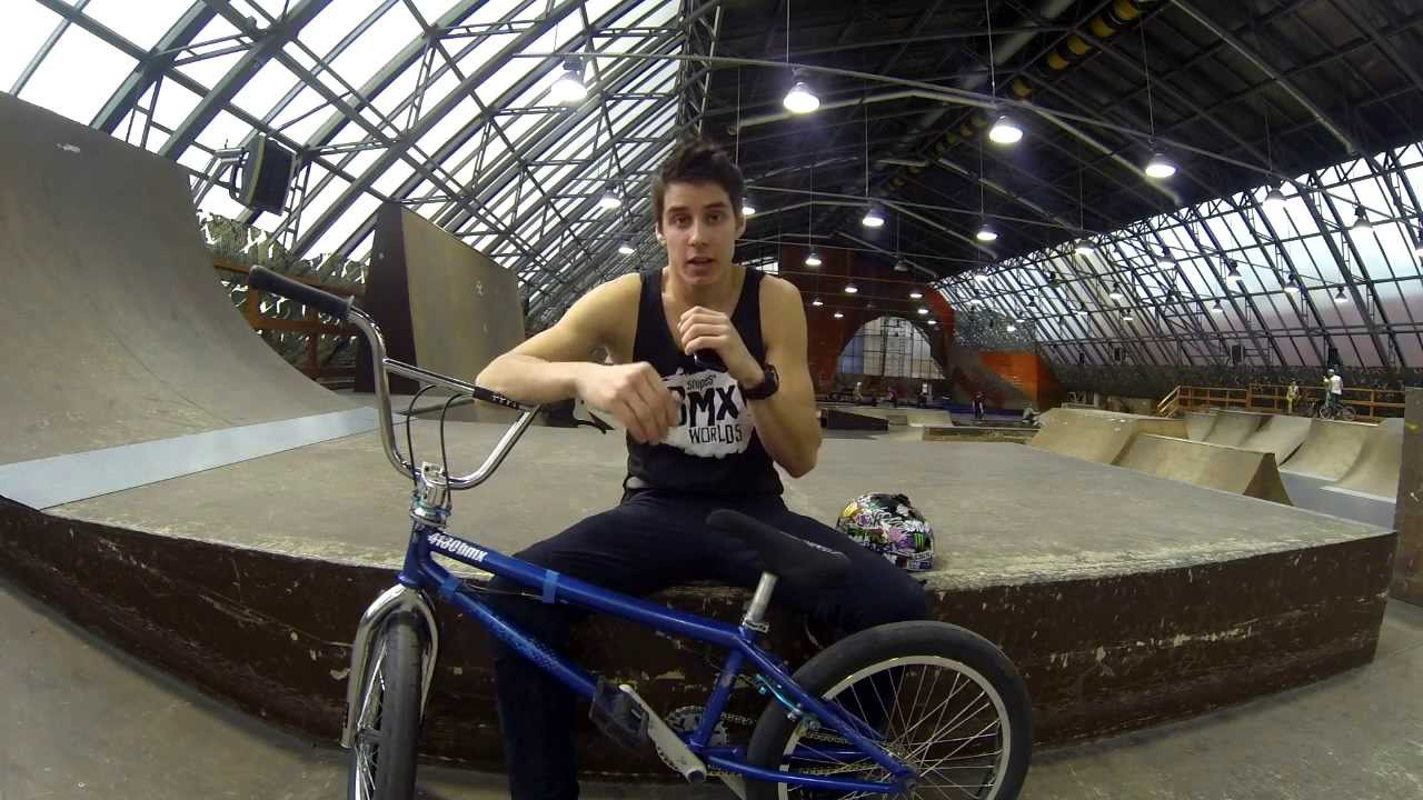 Антон Степанов - Вело Тест Драйв BMX Author Ag Lab Pimp 2.0 2015 .