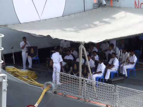 インド海軍軍楽隊:カラオケ大会(Indian Navy Band)