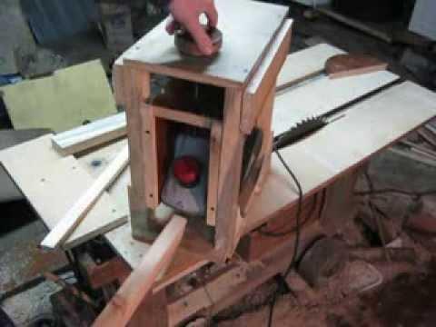 Стол для электрорубанка своими руками чертежи