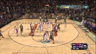 NBA 2k12 My Player Jose Manu vs Lebron James