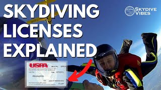 Skydiving license - You are a solo skydiver, now what!? (licenses A to D explained)