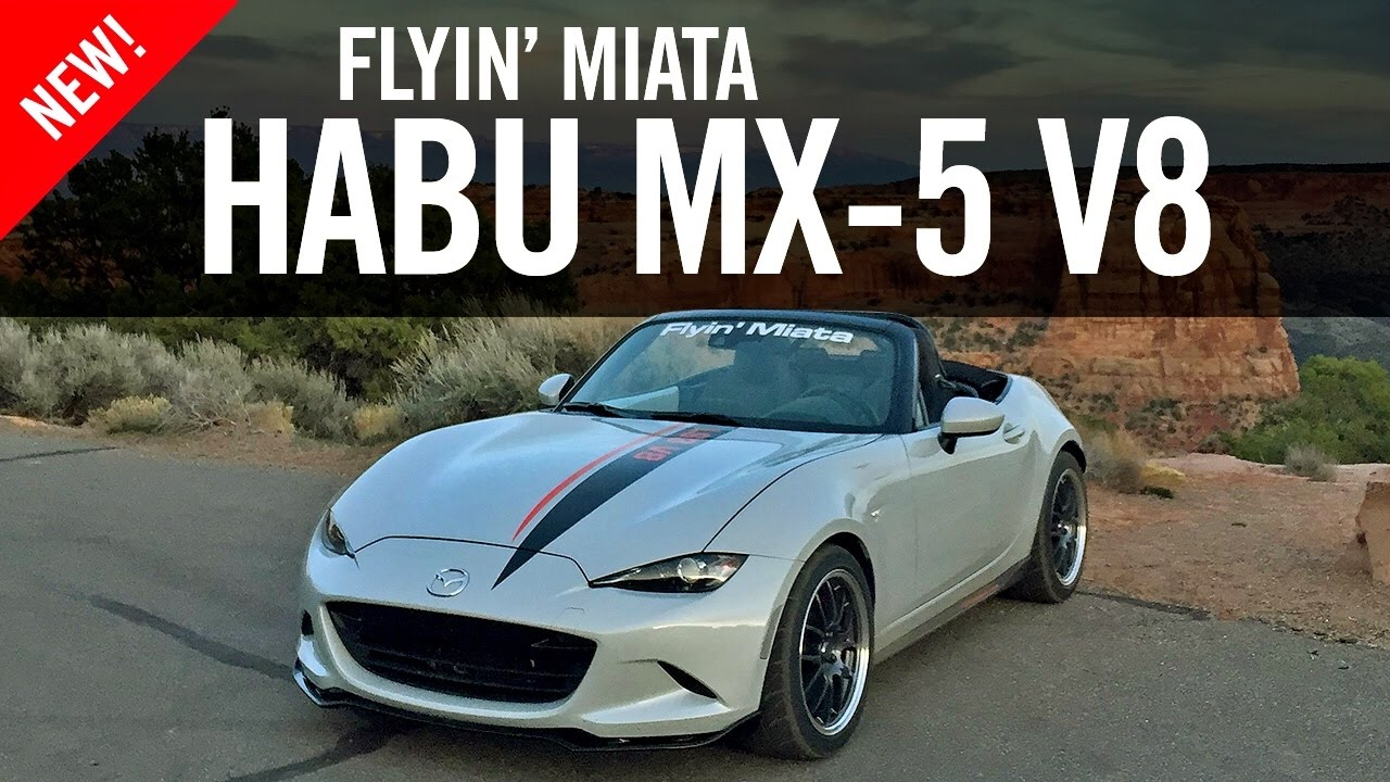 Flyin Miata Habu ND MX-5 V8 Review Road Test - YouTube