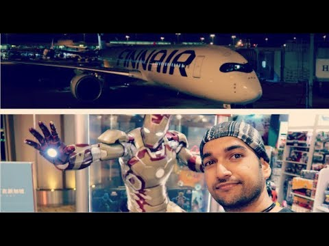FINNAIR Singapore to Helsinki Flight Experience #GradTrip-Ep1
