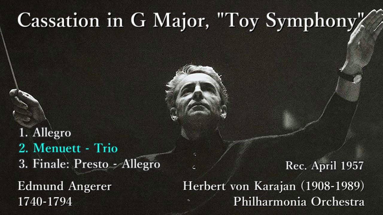 Angerer: Toy Symphony, Karajan...