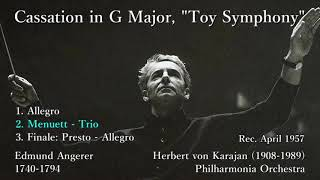 Angerer: Toy Symphony, Karajan & The Phil (1957) アンゲラー おもちゃの交響曲 カラヤン