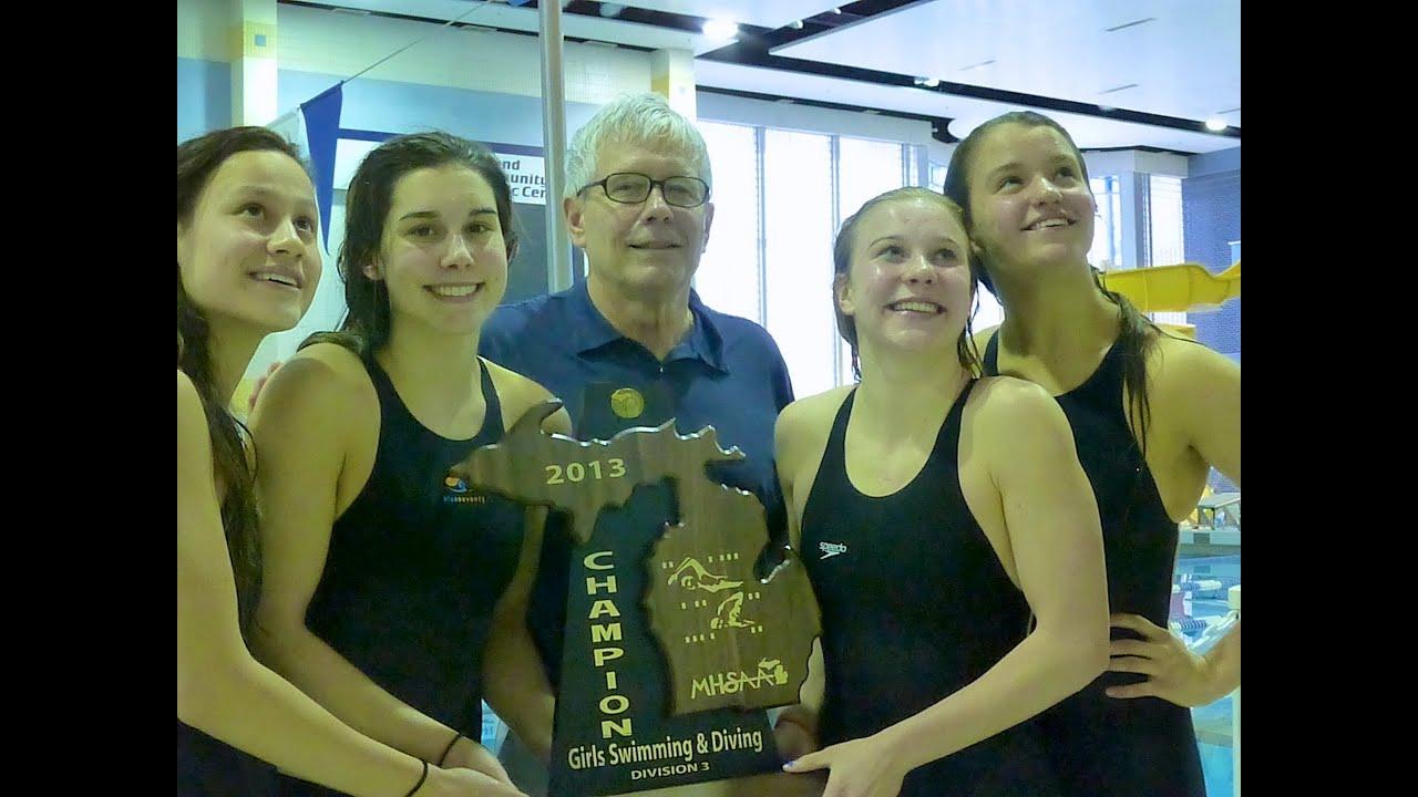 Egr Girls Swim Team Wins 2013 State Title, Leaps In Pool -6055