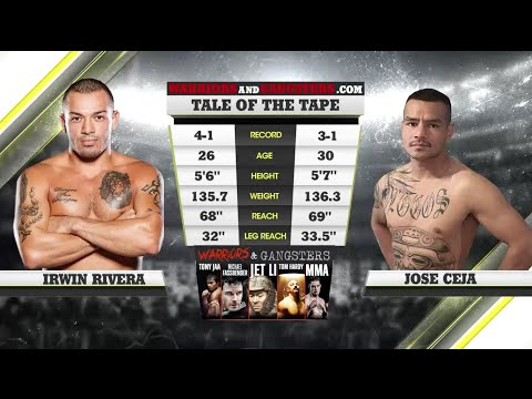 Fight of the Week: Legacy 52 Begins With an All Out War Between Irwin Rivera & Jose Ceja