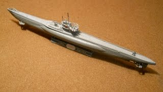 REVELL 1/350 German Submarine / Deutches U-Boot VII C - A Build In Pictures