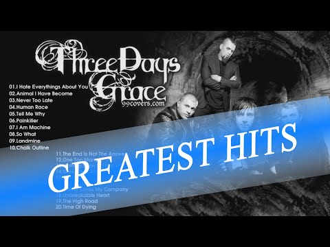 Three Days Grace  playlist | Three Days Grace Greatest Hits