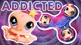 LPS: Addicted to Fidget Spinners Movie! (My Strange Addiction: Full Episode)