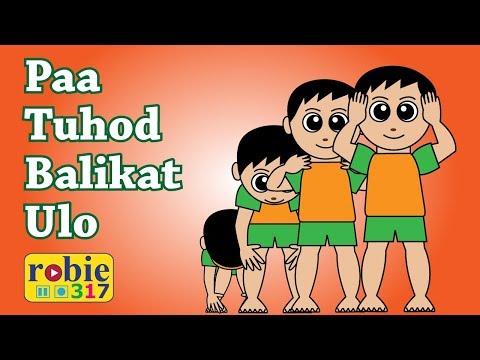 Paa Tuhod Balikat Ulo Animated | Awiting Pambata | Tagalog Nursery Rhymes