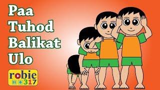 Paa Tuhod Balikat Ulo Animated (Awiting Pambata) | Tagalog Nursery Rhymes