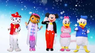 MICKEY MOUSE  Winter Games With  Paw Patrol Doc +  Mcstuffins + Donald Duck In Real Life Video