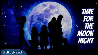 LAGUNYA MEGAH BANGET - Time For The Moon Night [MV] - GFRIEND Reaction Indonesia