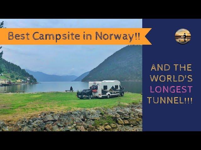 World's longest Road Tunnel & BEST campsite in Norway! Norway Motorhome Tour 2018 Part 4!