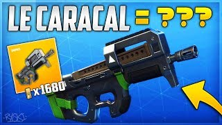 Fortnite: This Weapon Is Too Good on Fortnite Saving the World!! - ( Introducing the Caracal)
