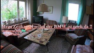 Lost Place - Zeitkapsel besucht , selbst der BMW steht noch in der Garage !!