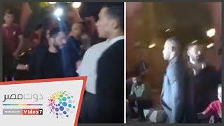 عزاء عزت أبو عوف .. محمد رمضان وتامر حسني والسقا أبرز الحضور