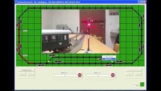 Állomási és vonali biztosítás modellvasúton / DCC model railway signalling system