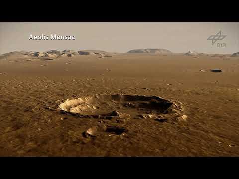 Fly Over NASA InSight's New Mars Home - Elysium Planitia