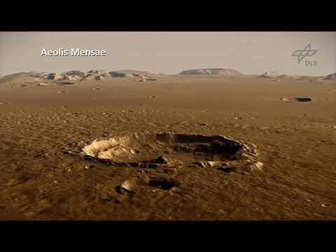 Fly Over NASA InSight's New Mars Home - Elysium Planitia ...