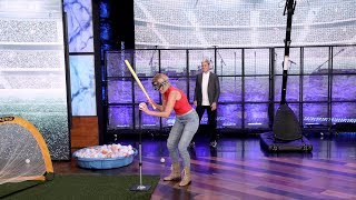 Ellen's Dancer of the Day Plays a Silly Sports Challenge