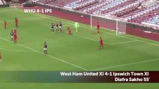 Amazing West Ham Tiki-Taka Goal - Alex Song, Ravel Morrison and Sakho
