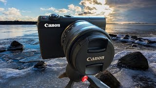 Canon EOS M100 Mirrorless Camera Review - Sample Video & Photos