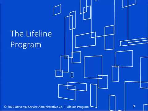 Federal Lifeline Internet And Telephone Discount Program Overview