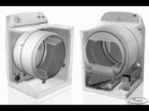 How Clothes Dryers Work  Whirlpool Drying Systems  YouTube
