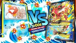 DISTRUGGO CARTE EX CON IL MAZZO DI MAGIKARP!!! - Pokémon GCC Online Road To Champion 06