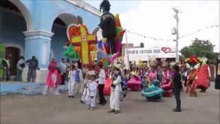 Fiesta de Calenda y Guelaguetza durante la evaluación UNESCO